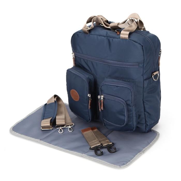 Baby Diaper Bags Backpack Designer Dark Navy