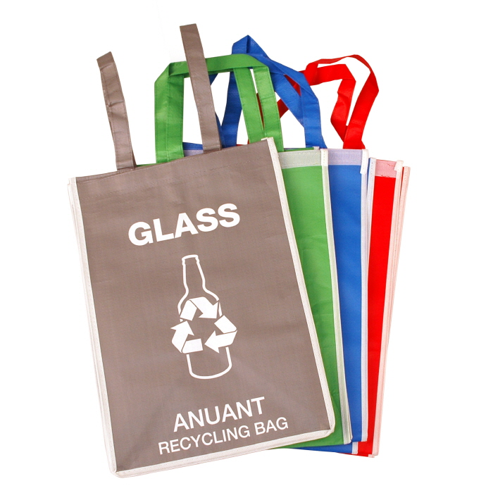 Recycle Waste Bag Recycle Bin Separate Waste Basket Bag For Household Supplies