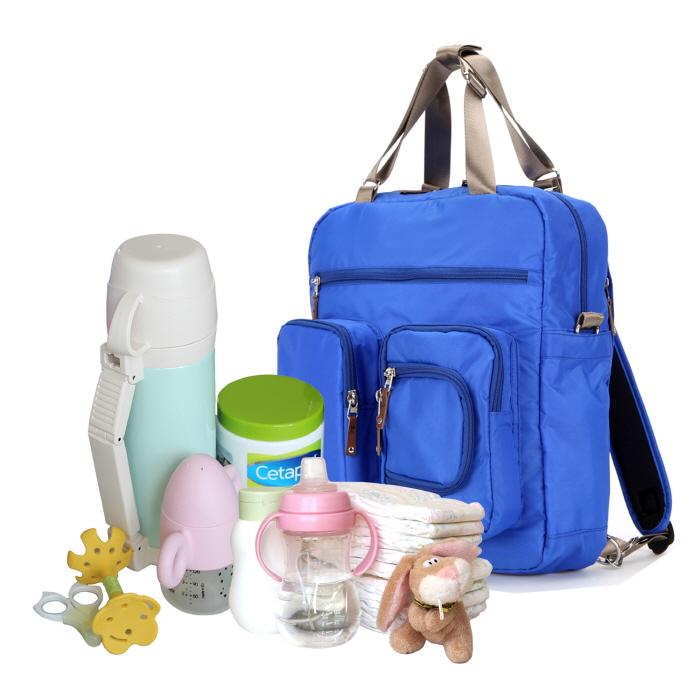 Baby Diaper Bags Backpack Designer - Blue - anuant.com
